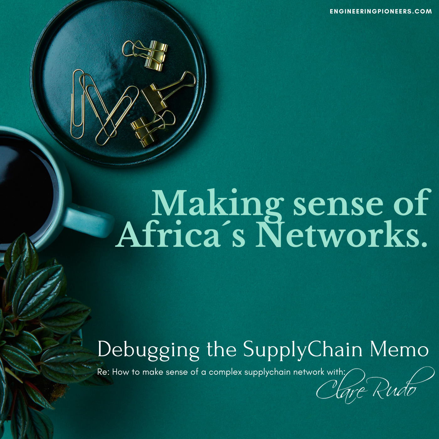 Making sense of Africas Network: Debugging the Supply Chain